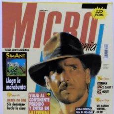 Videojuegos y Consolas: TARJETA, CROMO MATUTANO VIDEOJUEGO NINTENDO DE LOS 80 PORTADA DE MICRO MANÍA Nº28. Lote 53668928