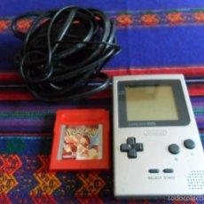 Videojuegos y Consolas: GAME BOY CON TRANSFORMADOR Y POKEMON ROJO EN BUEN ESTADO FUNCIONANDO.. Lote 55182276