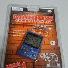Videojuegos y Consolas: NINTENDO MINI CLASSICS MARIO 'S CEMENT FACTORY - NUEVO BLISTR PRECINTADO. Lote 166248481