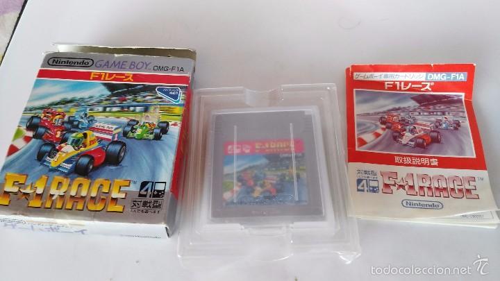 JUEGO NINTENDO GAME BOY EN CAJA F1 RACE (Juguetes - Videojuegos y Consolas - Nintendo - GameBoy)