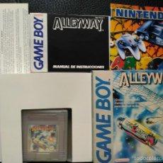 Videojuegos y Consolas: GAME BOY GAMEBOY ALLEWAY NUEVO A ESTRENAR CAJA CASTELLANO MUY RARO LEER DESCRIPCION. Lote 57131934