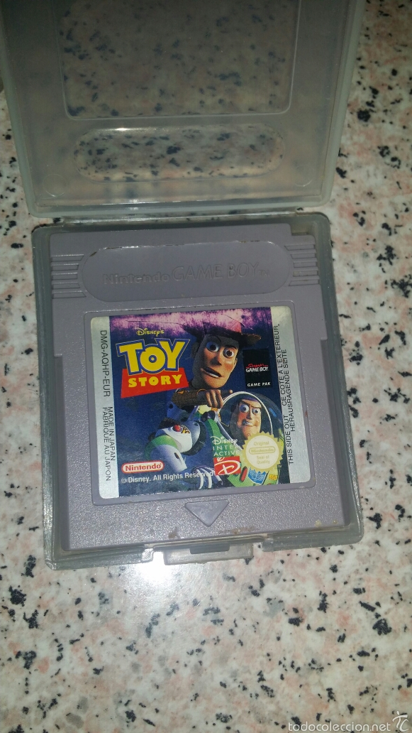 TOY STORY JUEGO NINTENDO GAME BOY (Juguetes - Videojuegos y Consolas - Nintendo - GameBoy)