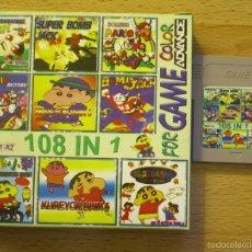 Videojuegos y Consolas: CARTUCHO CON 108 JUEGOS PARA GAME BOY,GAMEBOY COLOR.. Lote 58102117