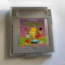 Videojuegos y Consolas: BART VS THE JUGGERNAUTS, JUEGO PARA GAME BOY DE NINTENDO. Lote 58108684
