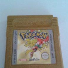 Videojuegos y Consolas: JUEGO NINTENDO GAME BOY POKEMON EDICION ORO PAL ESPAÑA R4297. Lote 58501652