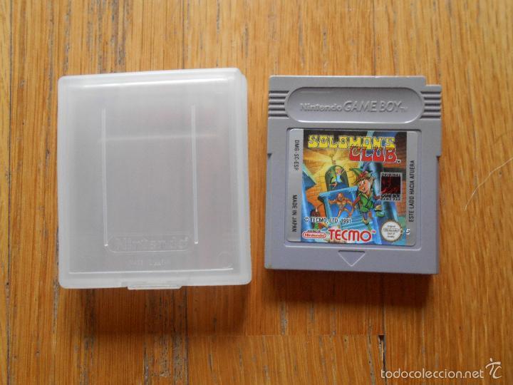 JUEGO GAMEBOY SOLOMONS CLUB. PAL ESP (Juguetes - Videojuegos y Consolas - Nintendo - GameBoy)