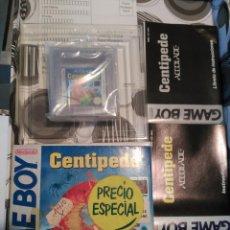 Videojuegos y Consolas: CENTIPEDE GAME BOY MANUAL CASTELLANO ARCADIA ACCOLADE NUEVO A ESTRENAR NEW . Lote 59640423