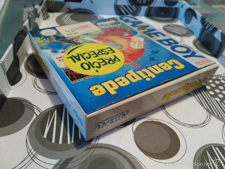 Videojuegos y Consolas: CENTIPEDE GAME BOY MANUAL CASTELLANO ARCADIA ACCOLADE NUEVO A ESTRENAR NEW - Foto 5 - 59640423