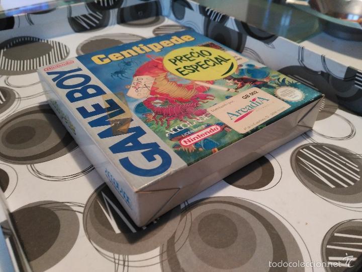 Videojuegos y Consolas: CENTIPEDE GAME BOY MANUAL CASTELLANO ARCADIA ACCOLADE NUEVO A ESTRENAR NEW - Foto 7 - 59640423