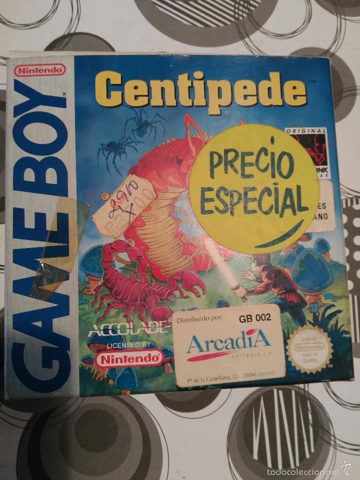 Videojuegos y Consolas: CENTIPEDE GAME BOY MANUAL CASTELLANO ARCADIA ACCOLADE NUEVO A ESTRENAR NEW - Foto 8 - 59640423