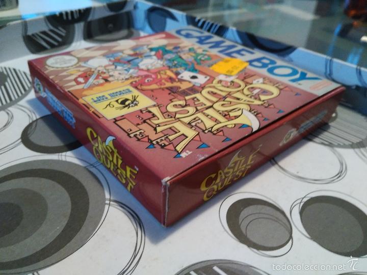 Videojuegos y Consolas: CASTLE QUEST HUDSON SOFT NUEVO A ESTRENAR HUDSON MANUAL EN CASTELLANO E INGLES ESPAÑOLIZADO Game boy - Foto 3 - 59640467