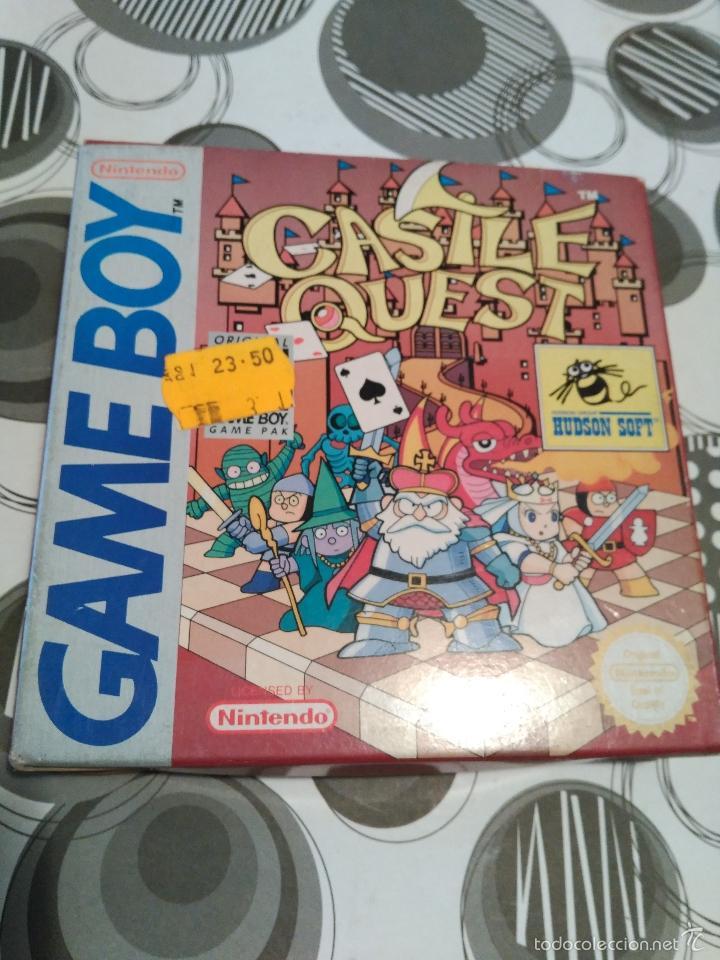 Videojuegos y Consolas: CASTLE QUEST HUDSON SOFT NUEVO A ESTRENAR HUDSON MANUAL EN CASTELLANO E INGLES ESPAÑOLIZADO Game boy - Foto 6 - 59640467