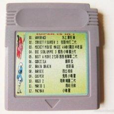 Videojuegos y Consolas: CARTUCHO GAMEBOY DE 12 JUEGOS. Lote 60725579