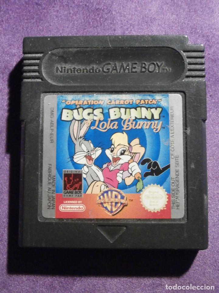JUEGO PARA CONSOLA - GAME BOY - BUGS BUNNY & LOLA BUNNY - OPERATION CARROT PATCH - DMG-ABLP-EUR (Juguetes - Videojuegos y Consolas - Nintendo - GameBoy)