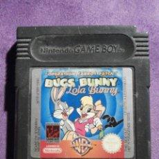 Videojuegos y Consolas: JUEGO PARA CONSOLA - GAME BOY - BUGS BUNNY & LOLA BUNNY - OPERATION CARROT PATCH - DMG-ABLP-EUR. Lote 61645456