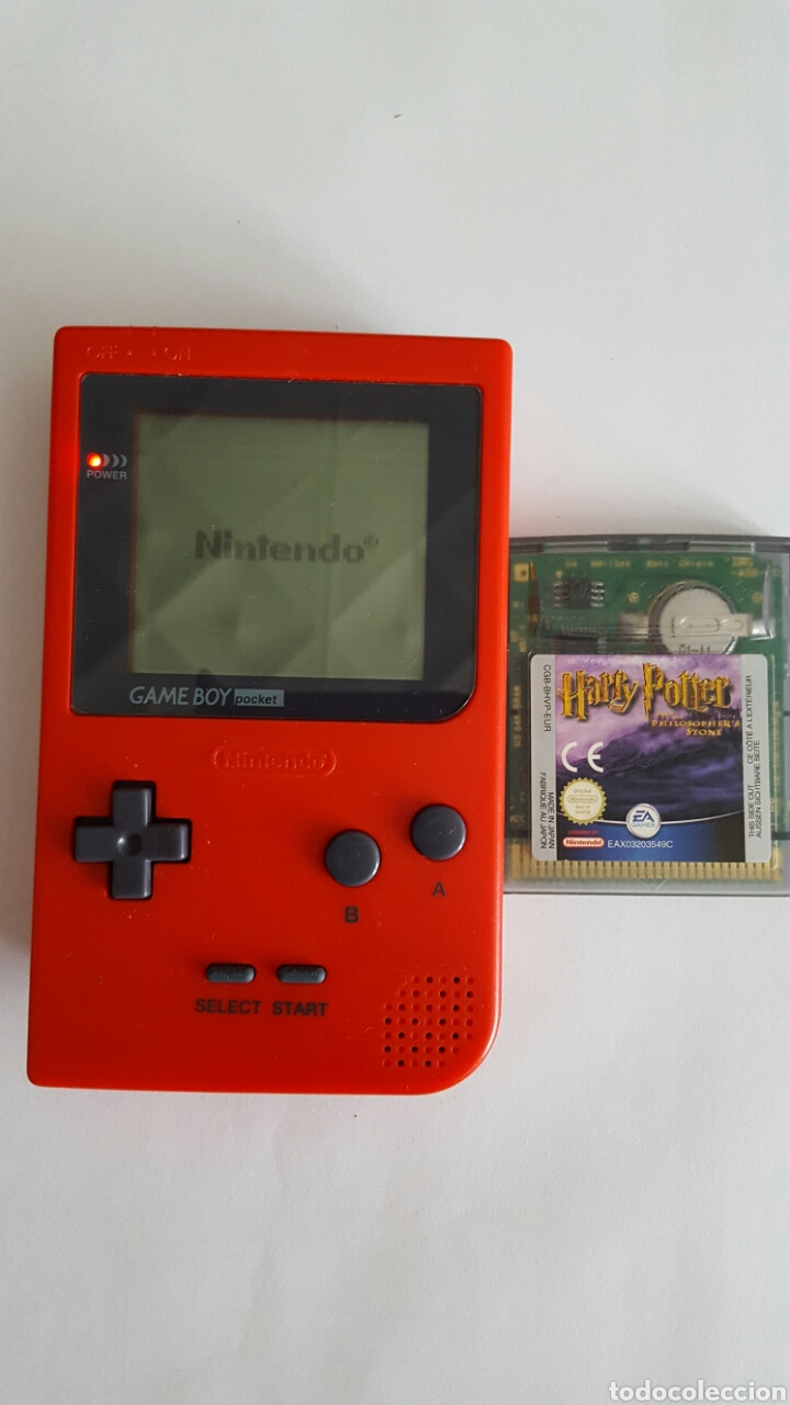 GAME BOY POCKET COLOR ROJO MODEL NO MGB-001