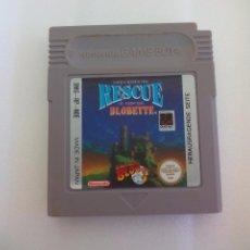 Videojuegos y Consolas: RESCUE OF PRICESS BLOBETTE DMG-RP-NOE NINTENDO JUEGO GAME BOY CLASSIC GB NINTENDO GAMEBOY. Lote 65831438