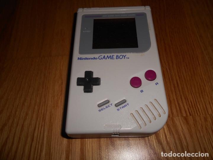 CONSOLA NINTENDO GAME BOY CLASICA FUNCIONANDO PERFECTAMENTE GAMEBOY CLASICA LA TOCHA (Juguetes - Videojuegos y Consolas - Nintendo - GameBoy)