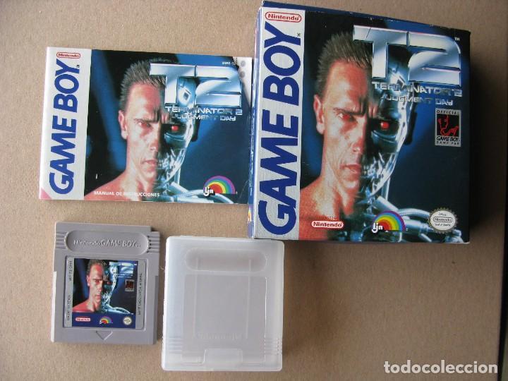 GAME BOY TERMINATOR 2 JUDGMENT DAY (ORIGINAL COMPLETO) (Juguetes - Videojuegos y Consolas - Nintendo - GameBoy)