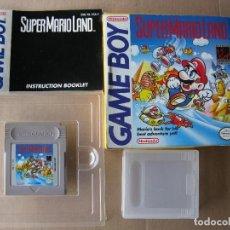 Videojuegos y Consolas: GAME BOY SUPER MARIO LAND (ORIGINAL COMPLETO). Lote 68974037