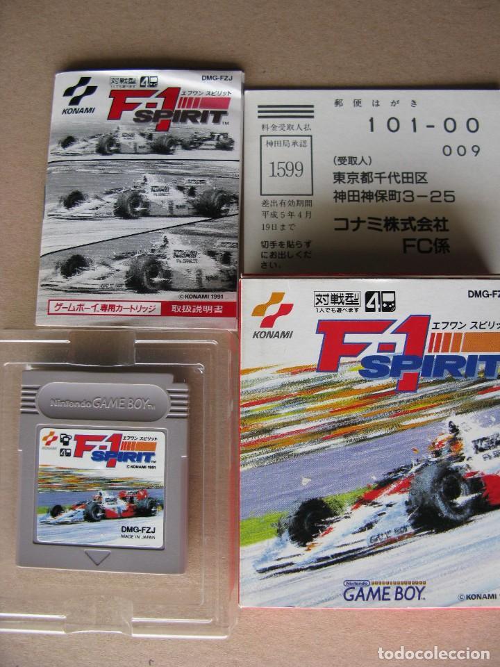 GAME BOY F-1 SPIRIT (ORIGINAL COMPLETO) (Juguetes - Videojuegos y Consolas - Nintendo - GameBoy)