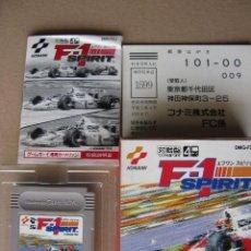 Videojuegos y Consolas: GAME BOY F-1 SPIRIT (ORIGINAL COMPLETO). Lote 68974921
