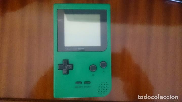 GAME BOY POCKET + GAME BOY COLOR + CARTUCHOS + ACCESORIOS. FUNCIONANDO. (Juguetes - Videojuegos y Consolas - Nintendo - GameBoy)
