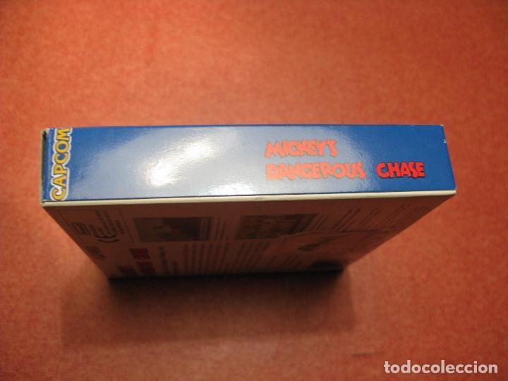 Videojuegos y Consolas: GAME BOY MICKEYS DANGEROUS CHASE (ORIGINAL COMPLETO) - Foto 3 - 68974777