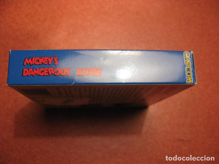 Videojuegos y Consolas: GAME BOY MICKEYS DANGEROUS CHASE (ORIGINAL COMPLETO) - Foto 5 - 68974777
