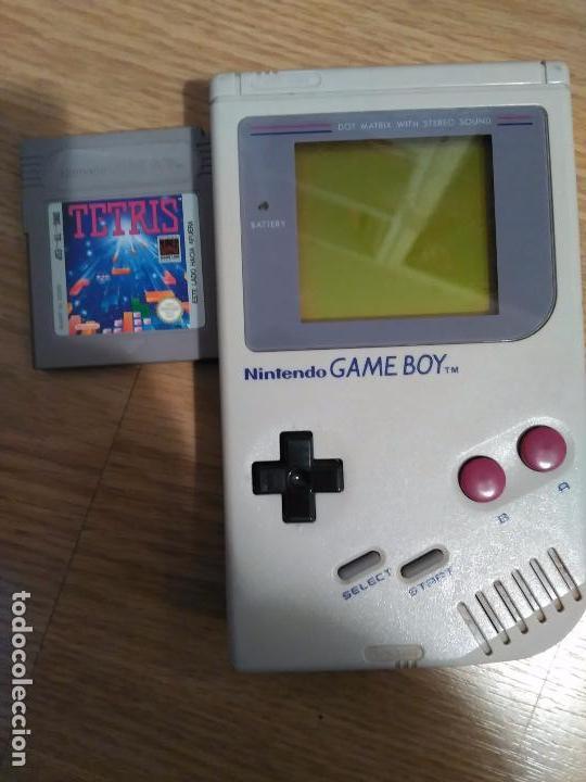Consola Gameboy Classic De Nintendo Con Juego T Comprar