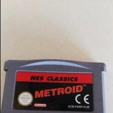 Videojuegos y Consolas: GBA GAMEBOY GAME BOY ADVANCE METROID NES CLASSICS. Lote 76491479