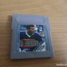 Videojuegos y Consolas: JUEGO CLON PARA NINTENDO GAMEBOY GAME BOY COLOR ZIDANE. Lote 77159821