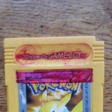 Videojuegos y Consolas: GAMEBOY GAME BOY POKEMON PIKACHU AMARILLO NINTENDO. Lote 77878597