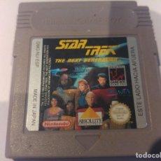 Videojuegos y Consolas: STAR TREK NEXT GENERATION GAMEBOY GB NINTENDO. Lote 80012253