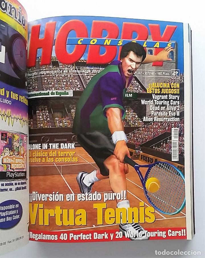 Videojuegos y Consolas: HOBBY CONSOLAS ENCUADERNADAS EN TOMO (VER FOTOS) MUY BUEN ESTADO. - Foto 7 - 80398369