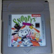 Videojuegos y Consolas: JUEGO NINTENDO GAME BOY SNOOPY'S TM. Lote 81121848