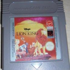 Videojuegos y Consolas: JUEGO NINTENDO GAME BOY LION KING. Lote 81122048