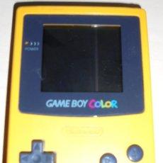 Videojuegos y Consolas: NINTENDO GAME BOY COLOR. AMARILLO. FUNCIONA. VER DESCRIPCIÓN.. Lote 81122452