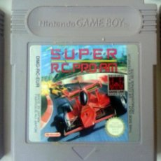 Videojuegos y Consolas: SUPER R.C GAMEBOY GAME BOY. Lote 83363268