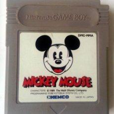 Videojuegos y Consolas: MICKEY MOUSE GAMEBOY GAME BOY. Lote 83364228