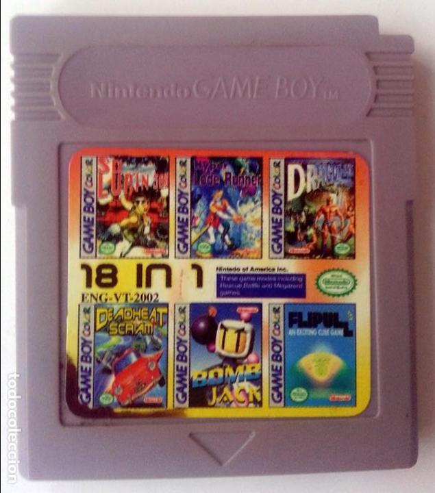 18 EN 1 GAMEBOY GAME BOY (Juguetes - Videojuegos y Consolas - Nintendo - GameBoy)