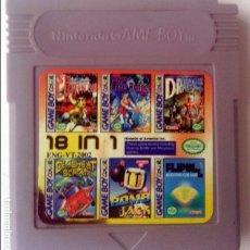 Videojuegos y Consolas: 18 EN 1 GAMEBOY GAME BOY. Lote 174009038
