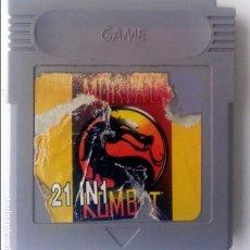 Videojuegos y Consolas: 21 EN 1 GAMEBOY GAME BOY. Lote 83364944