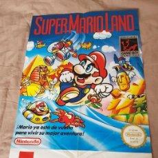 Videojuegos y Consolas: SUPERMARIOLAND PÓSTER NINTENDO GAMEBOY DE MATUTANO. Lote 87657806