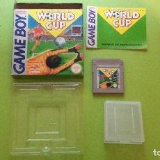 Videojuegos y Consolas: WORLD CUP COMPLETO - NINTENDO GAMEBOY VERSIÓN ESPAÑOLA - GAME BOY. Lote 88140592