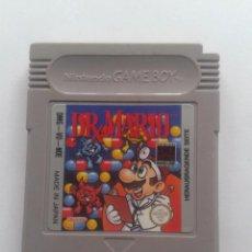 Videojuegos y Consolas: JUEGO NINTENDO GAME BOY DR MARIO X SOLO CARTUCHO PAL R6322. Lote 89049140