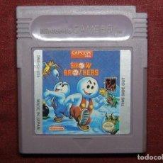 Videojuegos y Consolas: JUEGO GAMEBOY SNOW BROTHERS - COMPROBADO SU FUNCIONAMIENTO. Lote 89609048