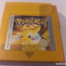 Videojuegos y Consolas: POKEMON AMARILLO GAMEBOY GB NINTENDO. Lote 91370290