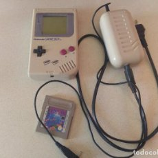Videojuegos y Consolas: GB GAMEBOY CLASICA DMG-01 + TETRIS + RECHARGEABLE BATTERY PACK NINTENDO. Lote 91459530