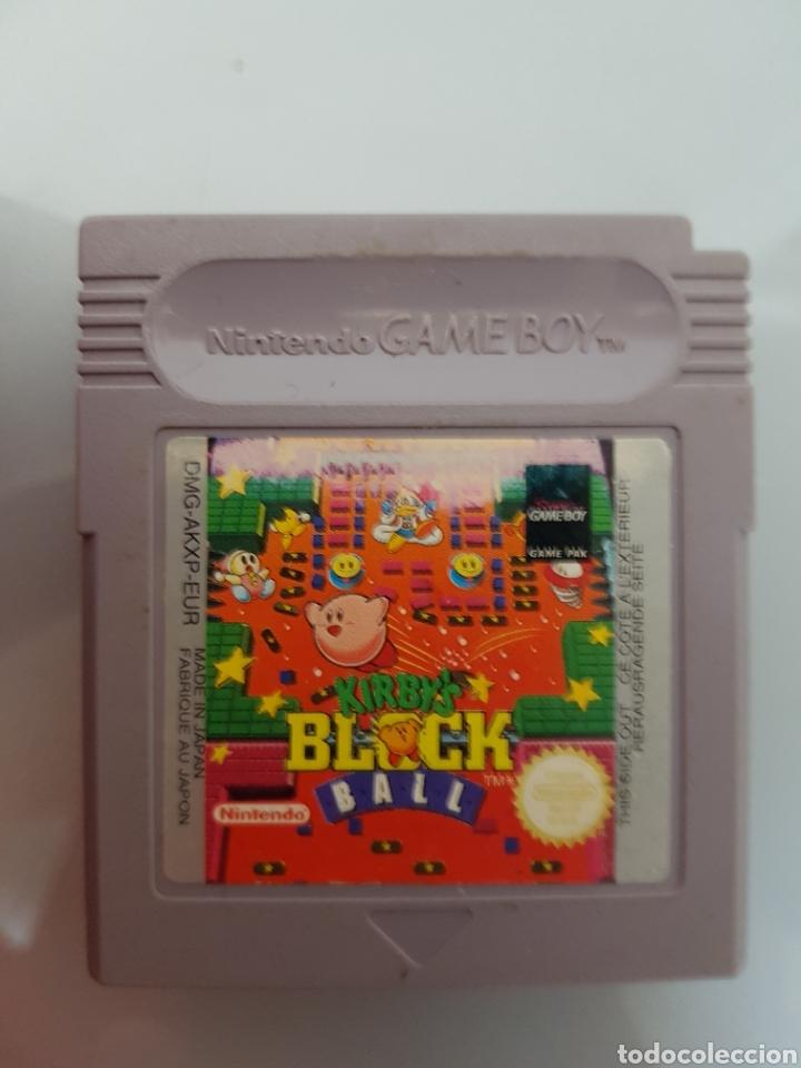 KIRBYS BLOCK BALL NINTENDO GAME BOY (Juguetes - Videojuegos y Consolas - Nintendo - GameBoy)
